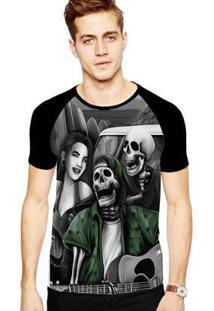 Camiseta Stompy Raglan Modelo 131 Masculina - Masculino