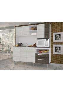 Cozinha Compacta Jade Sem Tampo Rovere/Dubai - Kits Paraná