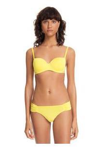 Soutien Estruturado Alcas Versateis Essential Amarelo