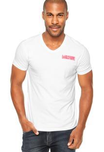 Camiseta Calvin Klein Jeans Logo Branco