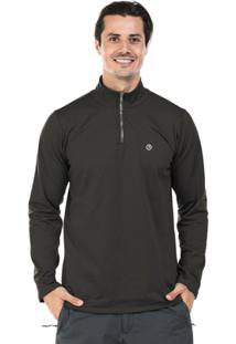 Camisa Térmica Para Frio Com Gola Alta Extreme Uv - Masculino