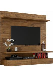 Painel Para Tv Pa14 100% Mdf 1,20Cm Cor Nobre - 29879 - Sun House