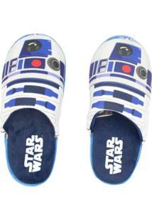 Pantufa Ricsen Star Wars - Unissex-Azul