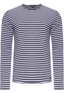 Camiseta Masculina Listra Saqua - Azul