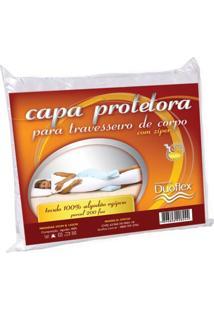Capa Protetora Para Travesseiro De Corpo - 35 X 142Cm - Duoflex