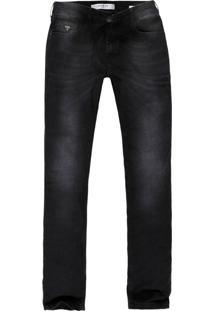 Calça Jeans Guess Masculina Slim Straight Escuro - 22164