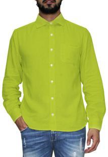 Camisa R.Mendes Marquee Amarela
