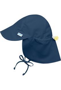 Chapéu Iplay Banho Australiano Fps50+ Azul