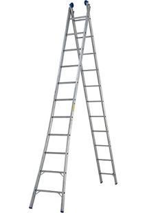 Escada Extensível 2X11 22 Degraus 5166 Mor