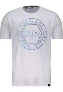 Camiseta Hd Black Lodge - Masculino-Branco
