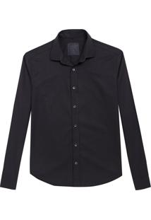 Camisa John John Regular Black Preto Masculina (Preto, G)
