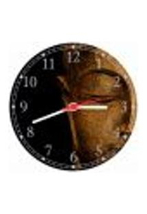 Relógio De Parede Budismo Buda Templos Chácras Meditação Decorações