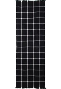 Scarf Xadrez Black (Xadrez Preto, Un)