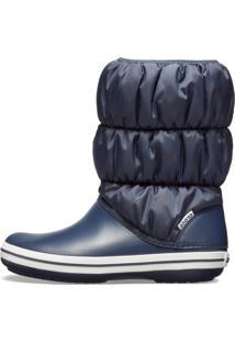 Bota Crocs Winter Puff Boot Women Azul