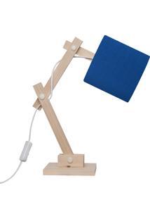 Luminária Carambola Articulada Azul