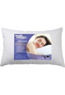 Travesseiro Fibra Bello Sonho Percal Siliconada Altura 15 Cm