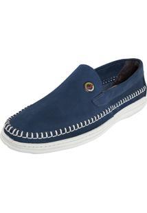 Sapato Mariner Ponto Celeiro Azul Marinho