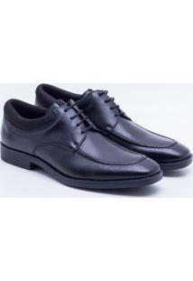 Sapato Social Spazzolato Preto Masculino 42