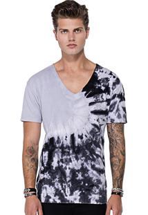 Camiseta Synchron Black Tie Dye