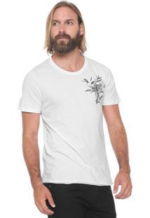 Camiseta Sommer Floral Branca