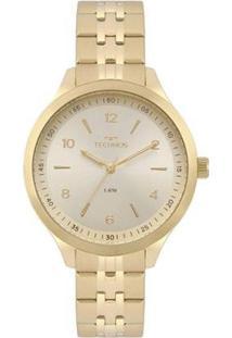 Relógio Technos Feminino Dress - Feminino-Dourado
