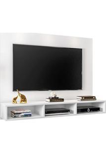 Painel Bancada Suspensa Para Tv De Até 50 Polegadas Quartzo Branco - M