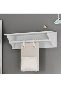Prateleira Porta Fraldas 100% Mdf 2317.010 Branco - Multimóveis