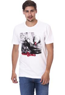 Camiseta Long Island Tn Masculina - Masculino-Branco