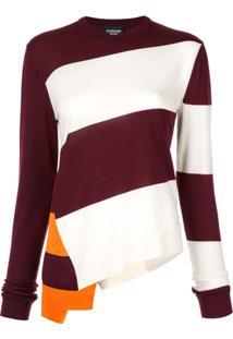 Calvin Klein 205W39Nyc Suéter Assimétrico - Estampado