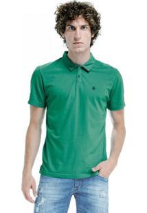 Camisa Polo Von Der Volke Basis Light Verde