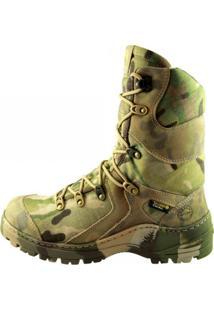 Bota Masculina Trilha Militar Airstep 8990-13 Multicam Camuflada Verde