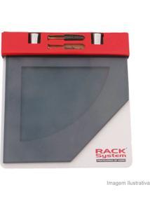 Prateleira De Vidro 20R Fumê Rack System