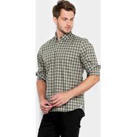 Camisa Lacoste Xadrez Regular Fit Bolso Masculina - Masculino Netshoes 931490583f