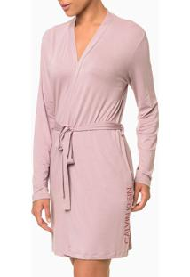 Robe M/L Viscolight - Rosa Pó - S