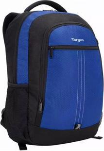 """Mochila Targus City Para Notebook De 15.6"""" - Unissex-Azul+Preto"""