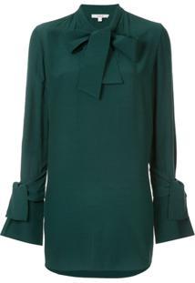 Layeur Blusa Com Laço - Verde