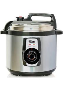 Panela De Pressão Elétrica 5L Philips Walita Ri3103 Inox 110V