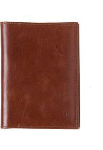 Carteira Porta Documentos Marrom Em Couro - Jatoba 103 Mzq
