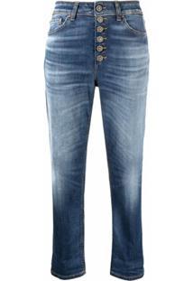 Dondup Calça Jeans Cropped Koons - Azul