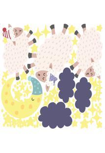 Adesivo Parede Quarto Infantil Ovelhas