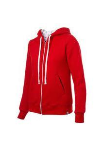 Jaqueta Feminina Vermelha