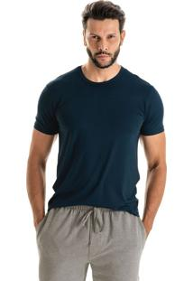 Camiseta Fred Manga Curta - L508 Marinho/P