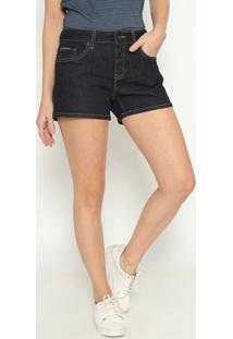Short Jeans Com Tag - Azul Escurocalvin Klein