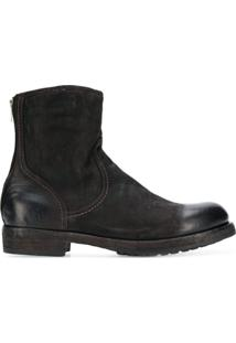 Officine Creative Ankle Boot 'Lowry' De Couro - Marrom