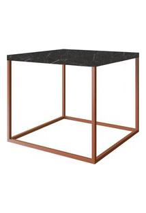 Mesa Centro Cube Marquina Aco Cobre 0,43 Cm (Alt) - 59069 59069