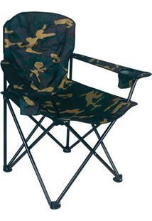 Cadeira Nautika Dobrável Pandera - Unissex-Verde Militar