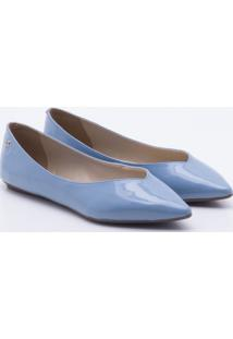 Sapatilha Verniz Blue