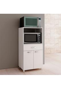 Armário De Cozinha Para Forno 2 Portas Bf15 Branco - Fellicci
