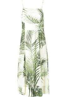 Osklen Vestido Alça Fesh Breeze - Verde