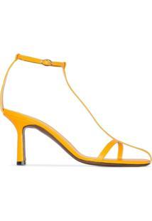 Neous Sandália Jumel De Tiras - Amarelo